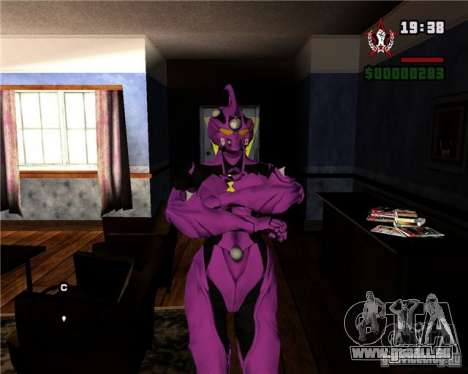 Guyver-I Demo pour GTA San Andreas quatrième écran