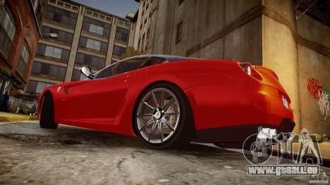 Ferrari 599 GTB pour GTA 4 est une gauche
