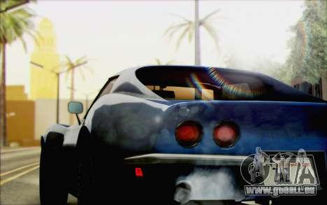 Chevrolet Corvette C3 Stingray T-Top 1969 pour GTA San Andreas laissé vue