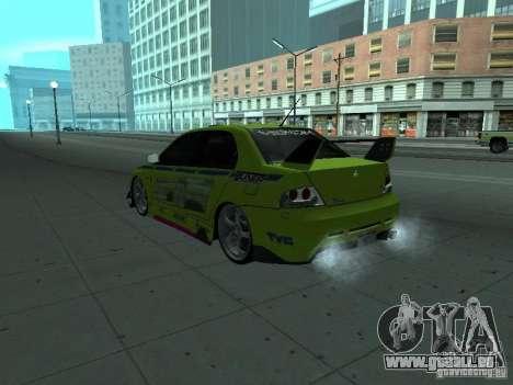 Mitsubishi Lancer Evolution 8 für GTA San Andreas
