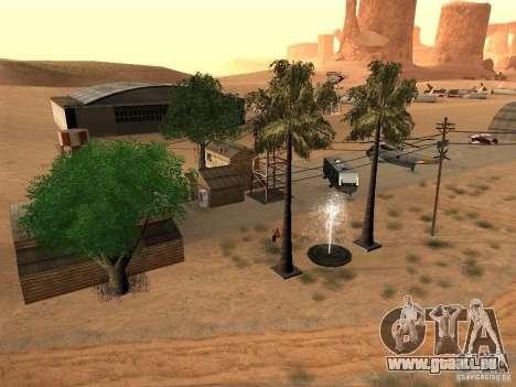 Nouvelles installations de l'aéroport dans le dé pour GTA San Andreas