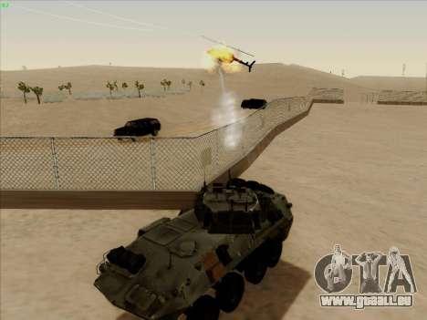 LAV-25 für GTA San Andreas Innenansicht