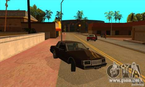 God car mod pour GTA San Andreas troisième écran