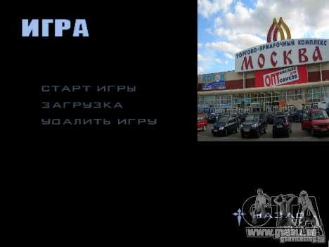 Écran de démarrage de Moscou pour GTA San Andreas onzième écran