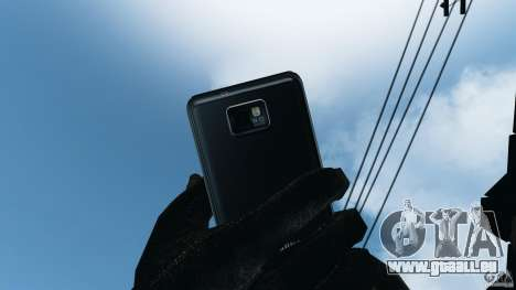 Samsung Galaxy S2 pour GTA 4 septième écran