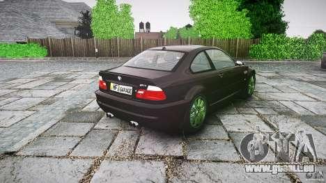 BMW M3 e46 2005 pour GTA 4 est un côté