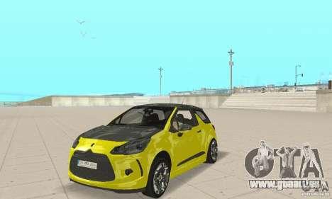 Citroen Ds3 Sport 2011 für GTA San Andreas