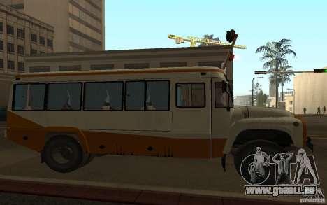 KAVZ 3976 KAVZOZIL für GTA San Andreas Innenansicht