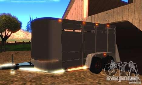 Trailer für den Chevrolet Silverado 2012 für GTA San Andreas