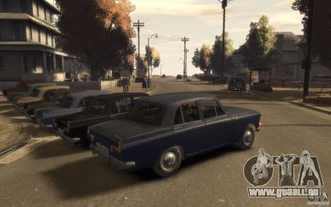AZLK 412 Moskvich pour GTA 4 est un droit