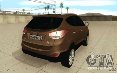 Hyundai ix35 pour GTA San Andreas vue de côté