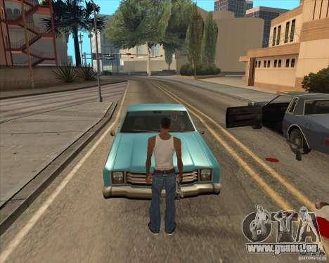 Pilotes de sortir de la voiture pour GTA San Andreas
