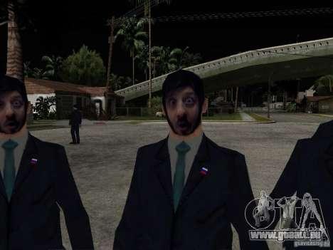 Bartgeier oder Galustyan für GTA San Andreas