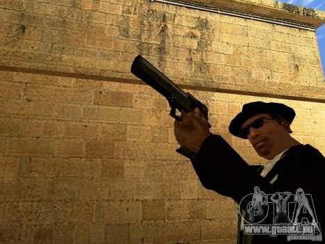 Desert Eagle MW3 pour GTA San Andreas sixième écran