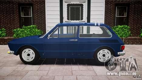 Volkswagen Brasilia pour GTA 4 Vue arrière