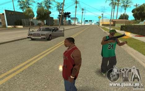 Grove Street Skin Pack für GTA San Andreas siebten Screenshot