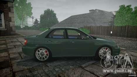 Subaru Impreza v2 für GTA 4 obere Ansicht