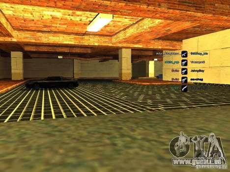 Neue Garage für SFPD für GTA San Andreas fünften Screenshot