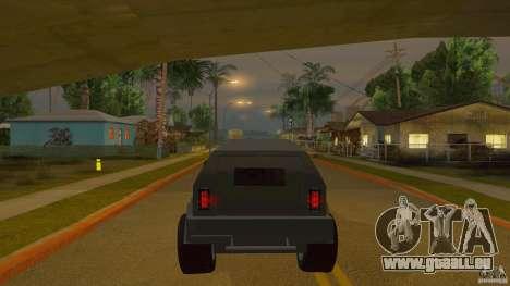 Gurkha LAPV pour GTA San Andreas vue de droite