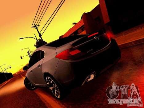 Opel Insignia pour GTA San Andreas vue de côté
