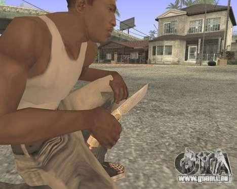 Messer HD für GTA San Andreas zweiten Screenshot