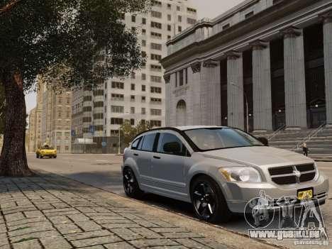 Dodge Caliber pour GTA 4 Vue arrière de la gauche