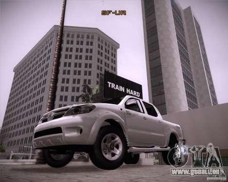 Toyota Hilux pour GTA San Andreas vue de droite