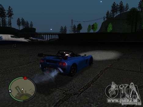 Lotus 2-Eleven 2009 für GTA San Andreas rechten Ansicht