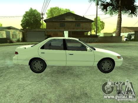 Toyota Camry 2.2 LE pour GTA San Andreas vue de droite
