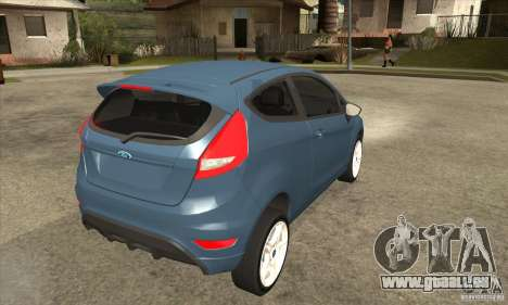 Ford Fiesta Zetec S 2009 für GTA San Andreas rechten Ansicht