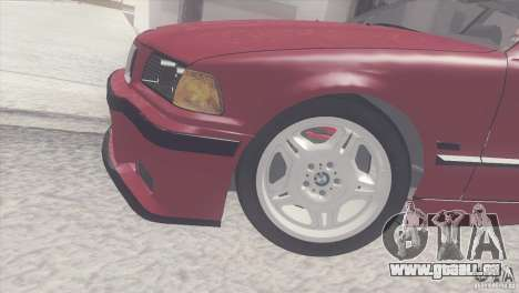 BMW e36 M3 Compact pour GTA San Andreas vue de droite