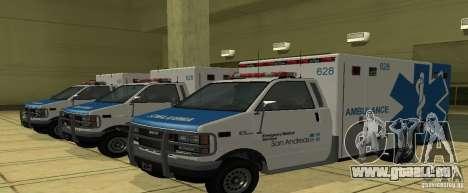 Krankenwagen von GTA 4 für GTA San Andreas