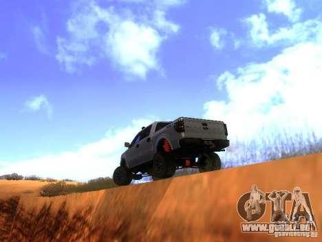 Ford F-150 Sargento Federal Edition pour GTA San Andreas vue de droite