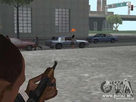 M1A1 Carbine für GTA San Andreas fünften Screenshot
