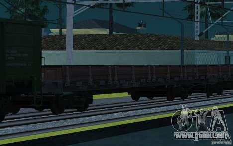 Eisenbahn mod II für GTA San Andreas elften Screenshot