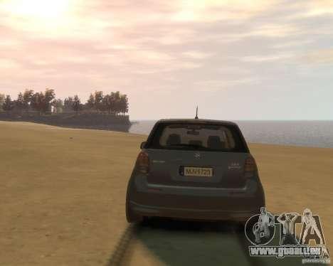 Suzuki SX4 Sport Back für GTA 4 rechte Ansicht