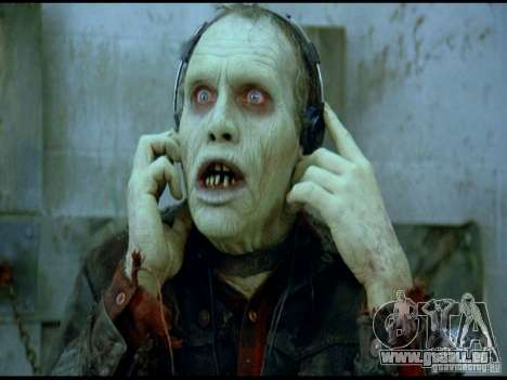Écran de démarrage de Zombies pour GTA San Andreas cinquième écran