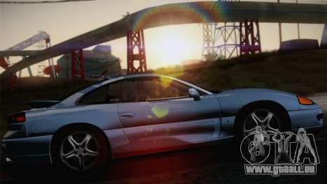 Dodge Stealth RT Twin Turbo 1994 für GTA San Andreas zurück linke Ansicht