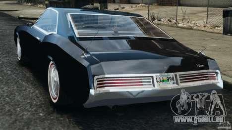 Buick Riviera 1966 v1.0 pour GTA 4 Vue arrière de la gauche