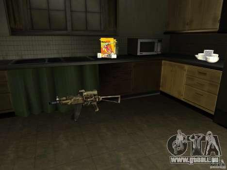 Inländischen Waffen-Version 1.5 für GTA San Andreas zweiten Screenshot
