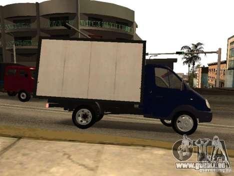 GAZ 3302-14 pour GTA San Andreas laissé vue
