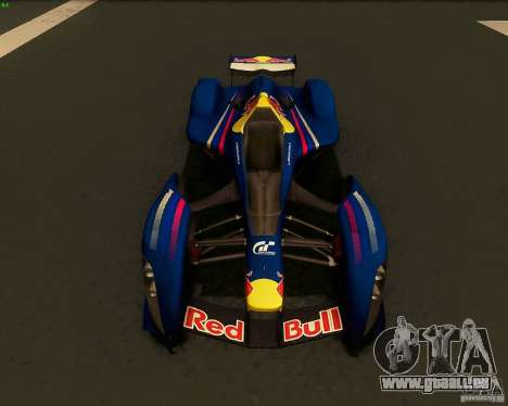 X2010 Red Bull für GTA San Andreas rechten Ansicht