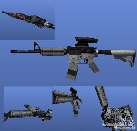 La M4a1 pour GTA 4