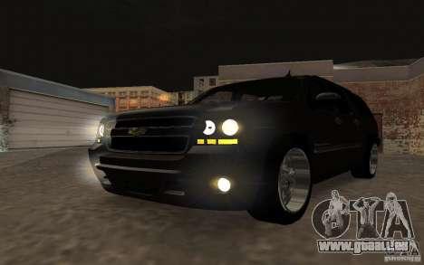 Chevrolet Suburban 2010 pour GTA San Andreas vue intérieure