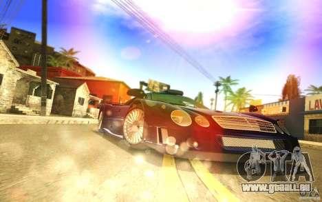 SA Illusion-S V2.0 pour GTA San Andreas deuxième écran