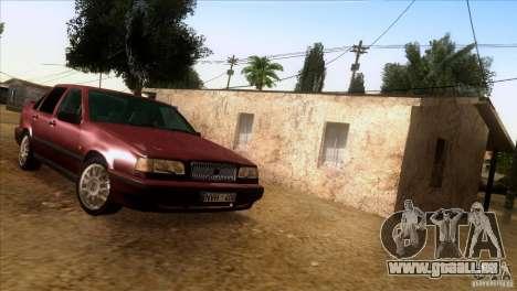 Volvo 850 Final Version für GTA San Andreas Rückansicht