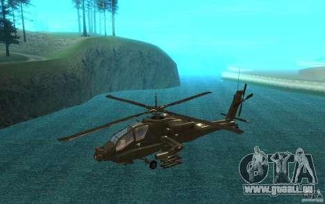 AH-64 Apache für GTA San Andreas