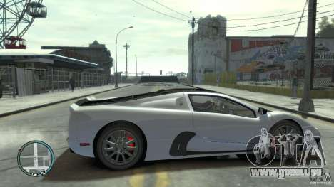 Shelby Super Cars Ultimate Aero pour GTA 4 est une vue de l'intérieur