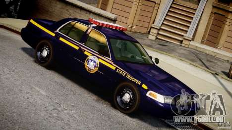 Ford Crown Victoria New York State Patrol [ELS] pour GTA 4