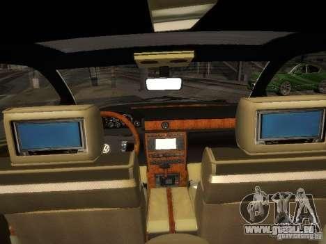Volkswagen Phaeton W12 pour GTA San Andreas vue arrière